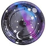 """10 Galaktische Pappteller aus der Serie """"Galaxy"""" – Weltraum Party"""
