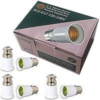 Baïonnette Batten Plafond Blanc Lampe Support BC B22 Ampoule Douille Lampe Raccord