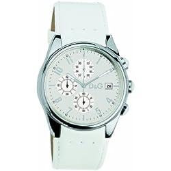 D&G 719770084 Sandpiper White strap Watch