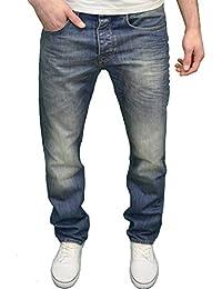 VOI - Jeans - Relaxed - Homme Bleu Bleu