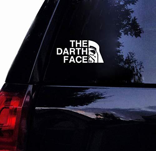 a auto aufkleber Star Wars The Darth Face Autoaufkleber Oracal Vader Empire Auto Für Laptop Für Autofenster Karosserie Aufkleber