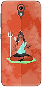 The Racoon Grip printed designer hard back mobile phone case cover for HTC Desire 620g. (shiva mini)