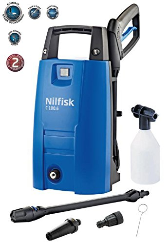 NILFISK C 100 6-5 - LIMPIADOR DE ALTA PRESION (VERTICAL  ELECTRICO  NEGRO  AZUL  ALUMINIO  440  320)