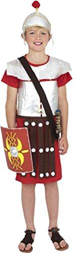 Kinder Fancy Kleid Kinder nordischen Schlacht Outfit Jungen Römischer Soldat Kostüm Gr. L , (Soldat Römischer Kinder Kostüme)