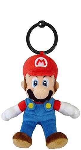 Llavero de peluche NINTENDO Mario 14cm