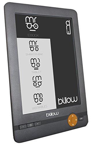 Billow E03E lectore de e-book - E-Reader (E Ink, 800 x 600...