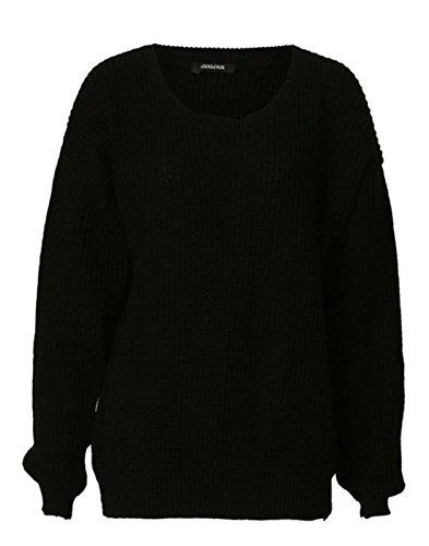zara-fashion-women-knitwear-oversized-chunky-knitted-baggy-jumper-sweater-one-size-black