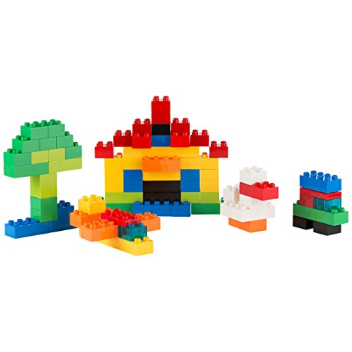 Ultrakidz Basic Building Block Set, 80 XXL building blocks for small  children, in classic sizes and colours – large construction building  blocks,