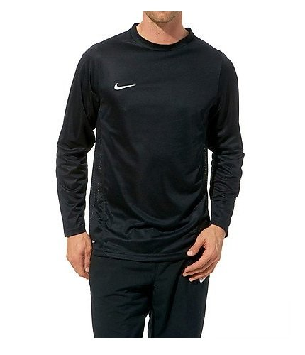 NIKE Herren Langärmliges Trainingstrikot Park IV Game black/white