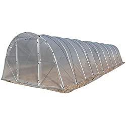 Serre Jardin Tunnel. Qualité professionnelle. Modèle i10 40 m² (4m x 10m). NOUS SOMMES FABRICANTS.