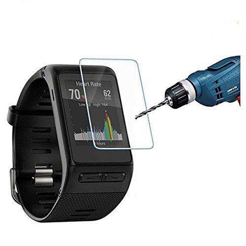 Preisvergleich Produktbild Interesting®5 Stück Ultra dünne 9H 2.5D ausgeglichenes Glas Displayschutzfolie für Garmin Vivoactive HR Fitness Smart watch