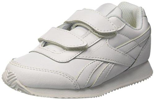 Reebok Royal Cljog 2 2v, Zapatillas de Trail Running para Niñas, Blanco White White, 27 EU