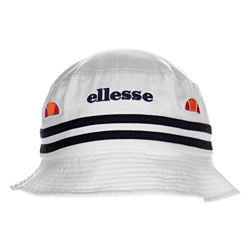 ELLESSE Lorenzo Herren Retro Fashion Eimer Hut - Weiß, Weiß, Herren, Einheitsgröße