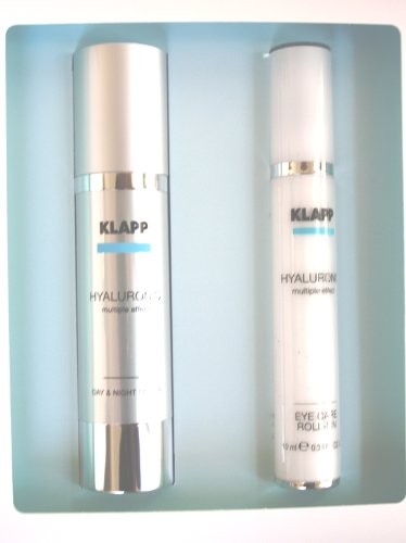 Klapp - Hyaluronic - Face Care Set NEU - Serum 50ml & Eye Care Roll-On 10ml