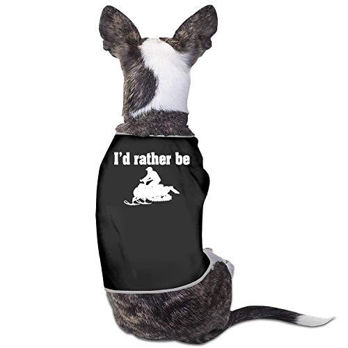 Ho Piuttosto Essere motoslitta Costumi Abbigliamento per Animali Cucciolo Vestiti per Cani Gilet t-Shirt t-Shirt