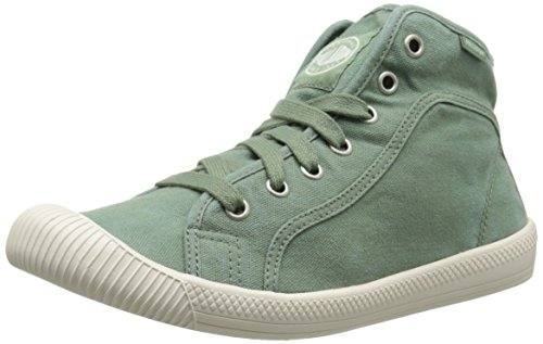PALLADIUM Chaussures - Sneaker FLEX LACE MID - hedge green hedge green marshmallow