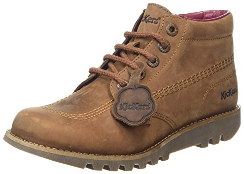 Kickers Women's Kick Hi C Lthr Af Boots, Brown (Brown), 8 UK...