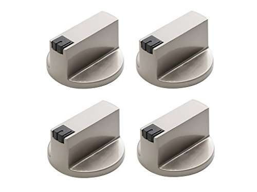 uctop Store 4PC 6mm 90° UNIVERSAL EDELSTAHL rund Gasherd Knöpfe Ofen Herd Control Switch