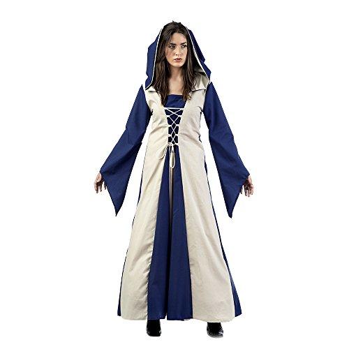 rt Mittelalter Kostüm Agnes Baumwolle, Größe L (MA613) ()