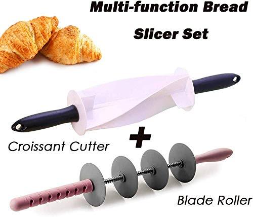 Cortadora pan multifunción Juego cuchillas ajustables