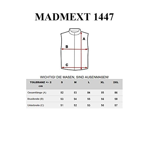 BOLF – Sweat – Capuche – Sans manches – Sans fermeture – Motivo – Hommes [1B1] Noir