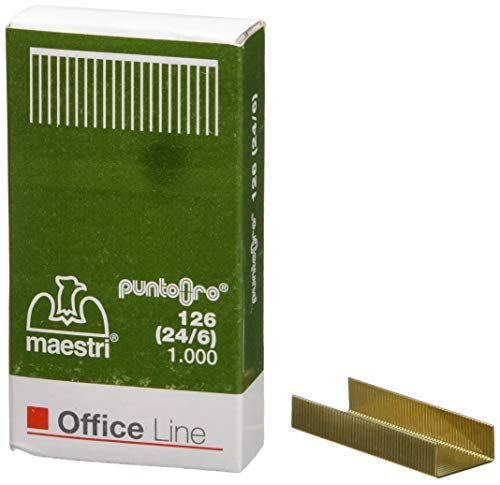Ro-ma - 1003103 - Box 1000 Punkte GOLD 126 (24/6) RO-MA (Packung 10)