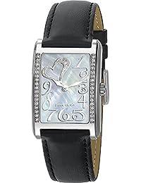 Pierre Cardin Damen-Armbanduhr Indépendance Femme Analog Quarz Leder