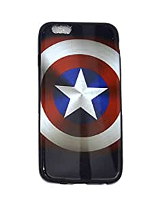 Kronus Creative Rubber Back Cover for Apple Iphone 6