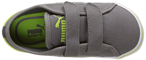 Puma Unisex-Kinder Elsu V2 Cv V Inf Low-Top Grau (steel gray-lime punch 01)