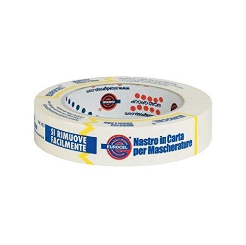 EUROCEL-MSK-6143-Nastro-in-carta-per-mascherature-25-mm-x-50-m-1-pezzo