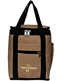 Right Choice Women's Silk Tiffin Bag(Beige)