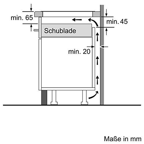 Neff T56BD60N0 Kochfeld Elektro / Induktion / 58,30 cm / Kochstelle Glaskeramik / schwarz - 5