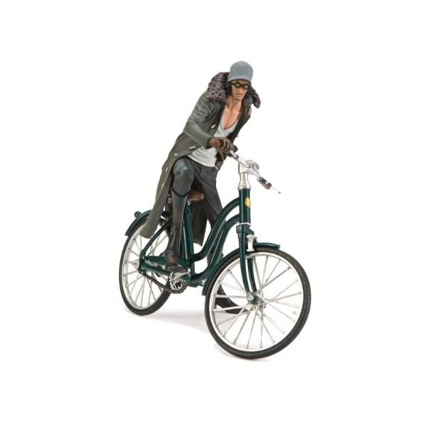 "One Piece DXF- THE GRANDLINE VEHICLE vol.2- Kuzan and Bicycle Aprox 6"" 1"