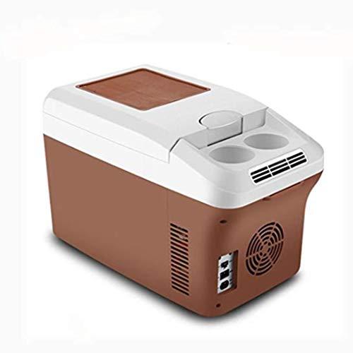 WLAY Kühlbox Elektrisch Zum Ziehen, Warmhaltebox Groß 15 L, Kühltasche Für Auto Und Steckdose, 12v 220v, 30 cm