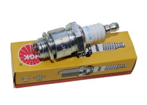 NGK - Bougie D'Allumage BR2-LM - Convenable Pour Motos, Tronçonneuses, Petit Électroménager Et Bateaux