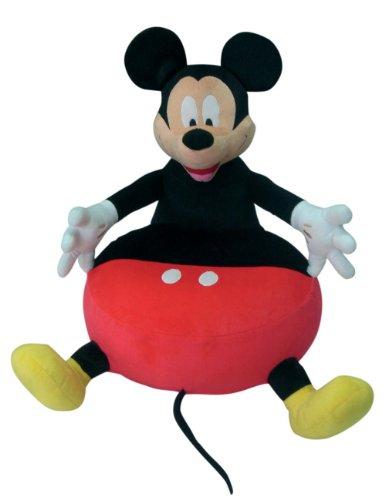 Poltrona Gonfiabile Disney.Disney Poltrona Gonfiabile Topolino Rosso Nero
