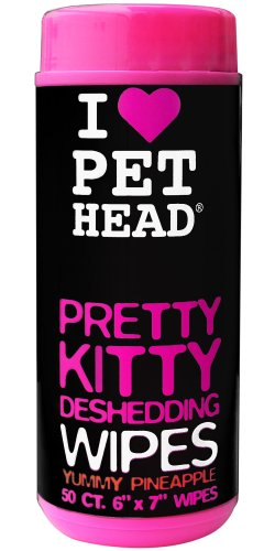 Pet Head Pretty Kitty Wipes Pack of 50