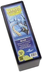 Dragon Shield Four-Compartment Storage Box - Blue