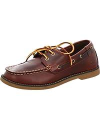 Timberland Seabury Classic Junior Dark Brown Leather Boat Shoes