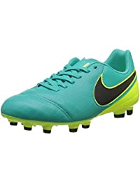 Nike Jr. Mercurial Vortex II FG, Scarpe da Calcio Infantile