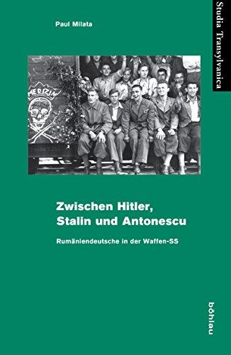 Zwischen Hitler, Stalin und Antonescu: Rumäniendeutsche in der Waffen-SS (Studia Transylvanica)