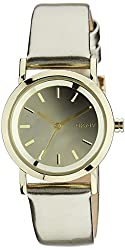 (CERTIFIED REFURBISHED) DKNY Chronograph Gold Dial Womens Watch - NY8858CR