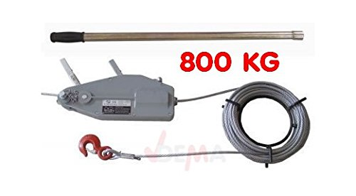 Tire-câble manuel - Tire-fort - 800 kg - NEUF