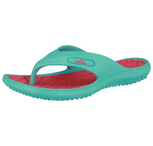 TurquoisePink 365 EU Surf Infradito Donna Nero Nero 3641 EU Verde 365 fl7