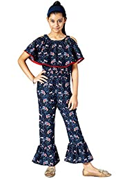 Naughty Ninos Girl's Regular fit Jumpsuit
