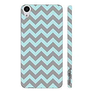 HTC Desire 626 GLOOMY CHEVRON designer mobile hard shell case by Enthopia