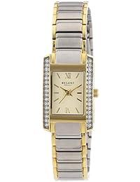 Regent Damen-Armbanduhr Analog Quarz Edelstahl beschichtet 12230562