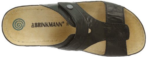Dr. Brinkmann 700670, Sandali donna Nero (Schwarz (schwarz 1))