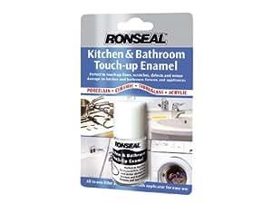 Ronseal KBTUE 10ml Kitchen + Bathroom Touch Up Enamel