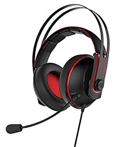 Asus Cerberus V2 Gaming Headset (kabelgebunden, PC, MAC, PS4, Smartphone, abnehmbares Mikrofon)